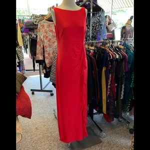 NEW CHAPS RED DRESS SZ 12